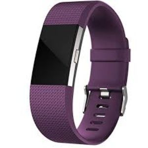 purple fitbit band NWT